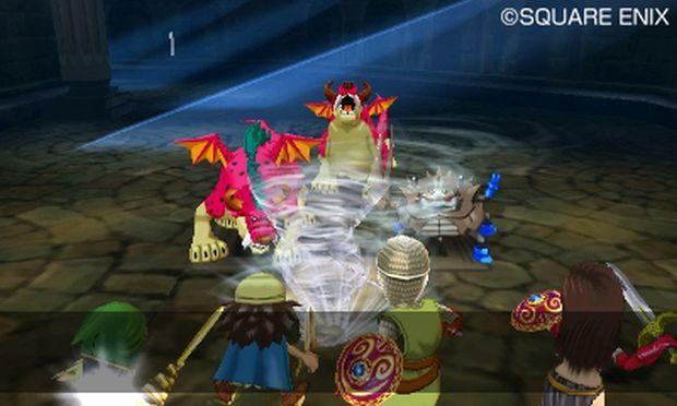 dragon quest vii 3ds combat