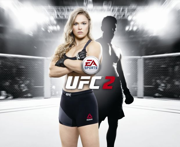 ea sports ufc 2 ronda rousey screen jaquette
