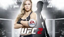 ea sports ufc 2 ronda rousey screen logo cover