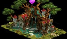 elvenar merveilles antiques elfes logo