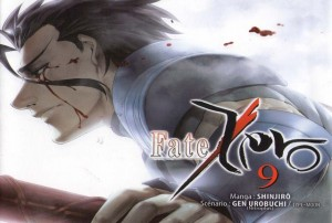 fate zero volume 9 critique review manga ototo screen logo