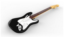 fender stratocaster mad catz rock band 4 logo