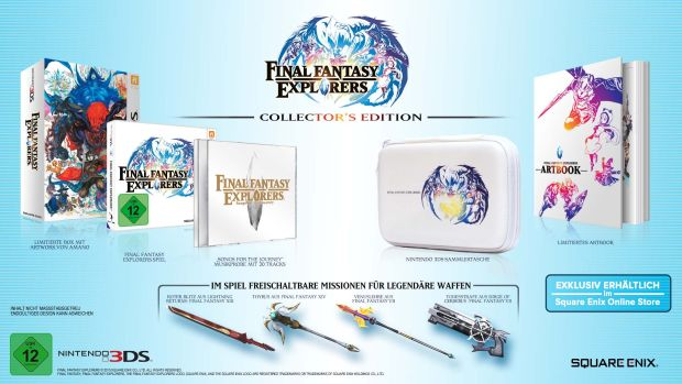 final fantasy explorers limited edition
