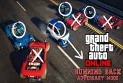 grand theft auto online running back mode screen logo