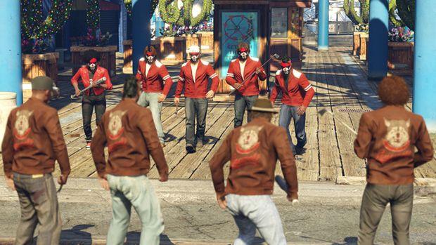 gta online the warriors gang brawl