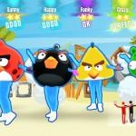 Avec Just Dance 2016, Ubi mise sur l'hétéroclisme... la preuve avec ce Angry Birds déjanté!