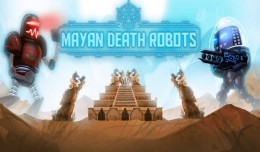 mayan death robots launch logo