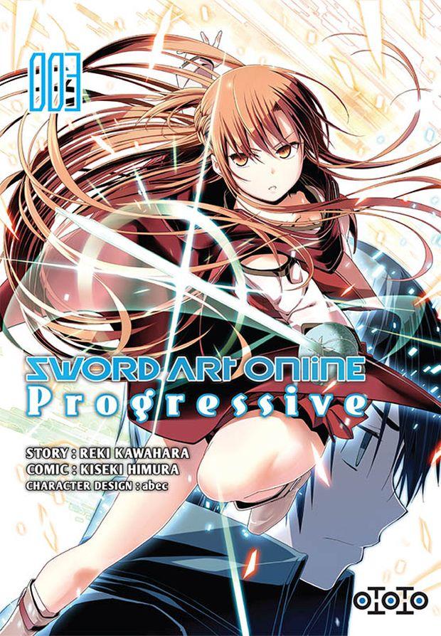 ototo sword art online progressive tome 3