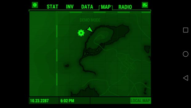 pip-boy fallout application ios android screen 2