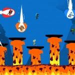 Certains modes de jeu de Runbow font furieusement penser... à Super Smash Bros!