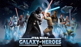 star wars galaxy of heroes ea logo