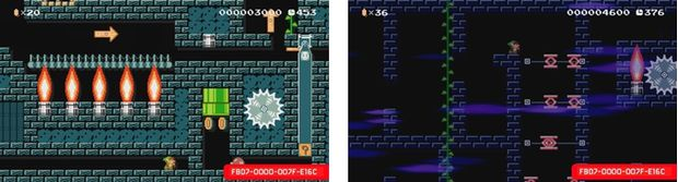 super mario maker zelda the lost temple 2
