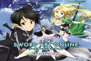 sword art online lost song launch logo