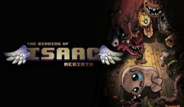 the binding of isaac rebirth test review 3ds logo
