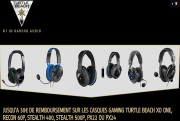 turtle beach promotion casques audio