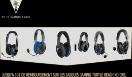turtle beach promotion casques audio