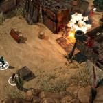 """La représentation du jeu se fait de 3/4 haut pour une lisibilité optimale et un petit air de """"Fallout"""" bien sympathique"""