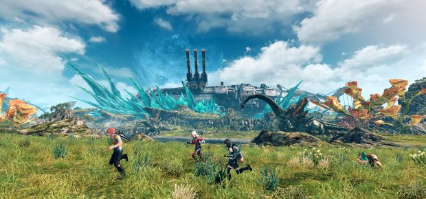 xenoblade chronicles x launch screen 1