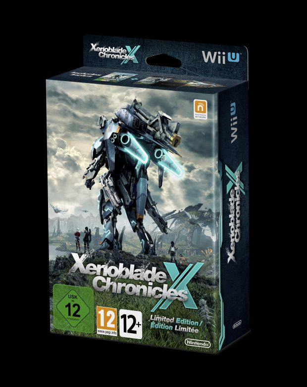 xenoblade chronicles x wii u limited edition