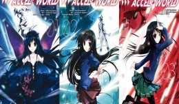 Accel world tome 1 & 2 & 3 critique review ototo logo