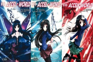 Accel world tome 1 & 2 & 3 critique review ototo logo