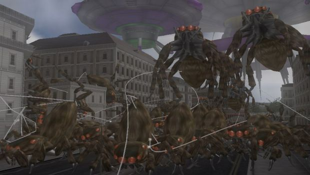 Earth Defense Force 2 PS Vita Screen 2