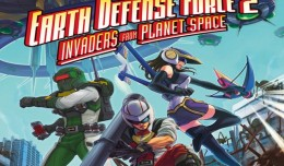 Earth Defense Force 2 PS Vita Screen Logo