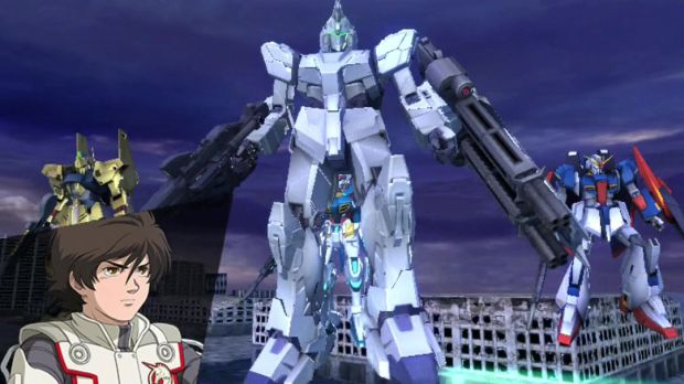 Gundam Extreme VS Force Screen 1