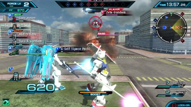 Gundam Extreme VS Force Screen 2