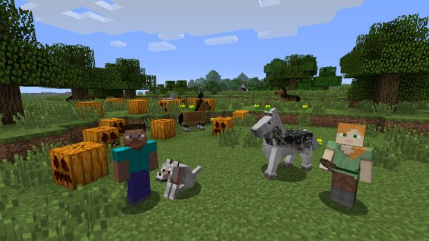 Minecraft Wii U Edition Screen 1