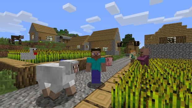 Minecraft Wii U Edition Screen 4