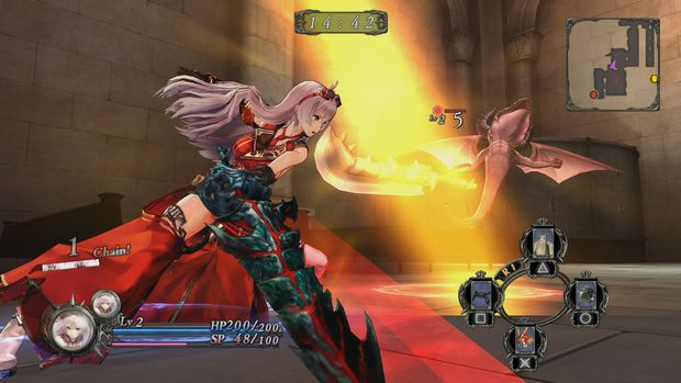 Nights of Azure Battle 2
