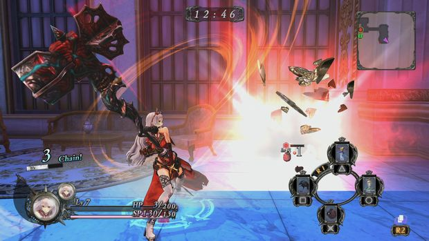 Nights of Azure Battle 6