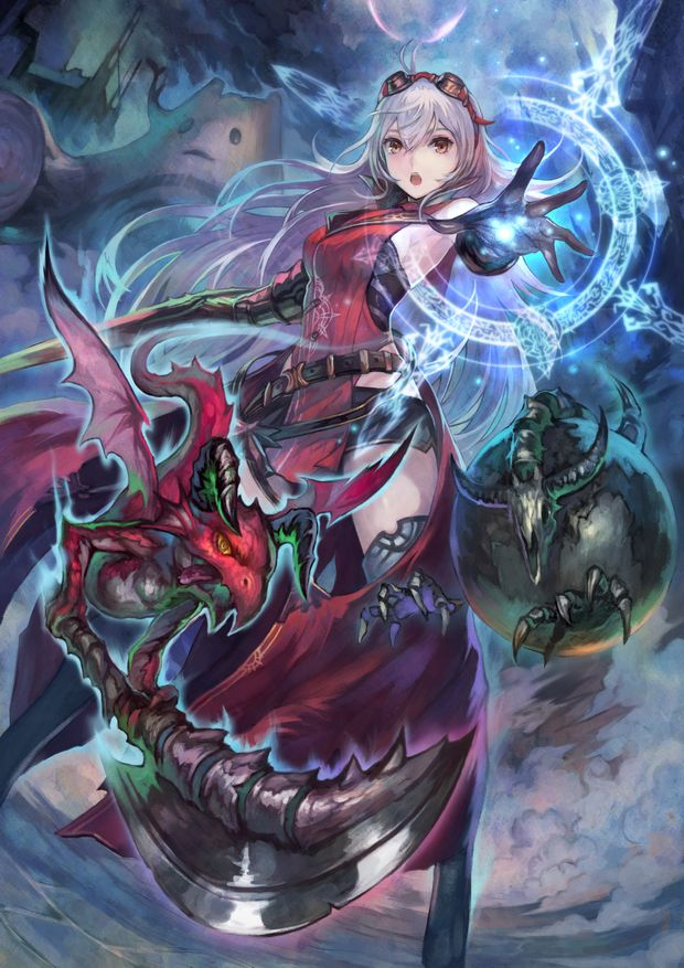 Nights of Azure Keyart Arnice