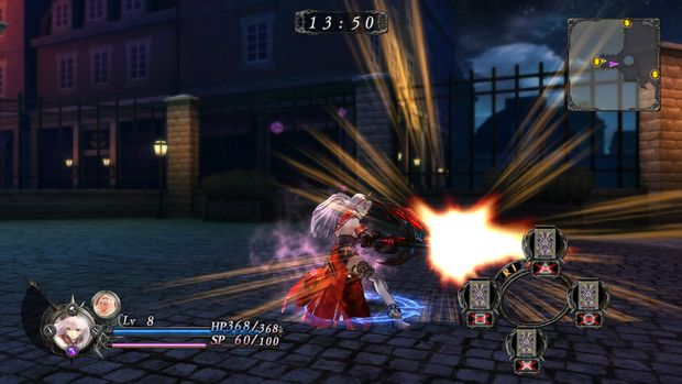 Nights of Azure Weapon Gun 1