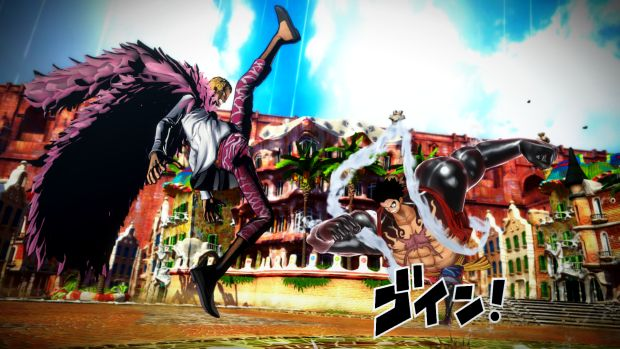 One Piece Burning Blood New Screen 1