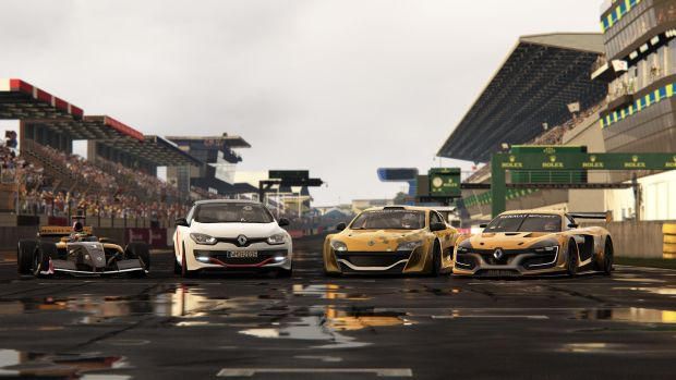 Project Cars Renault Sport Cars Update 1