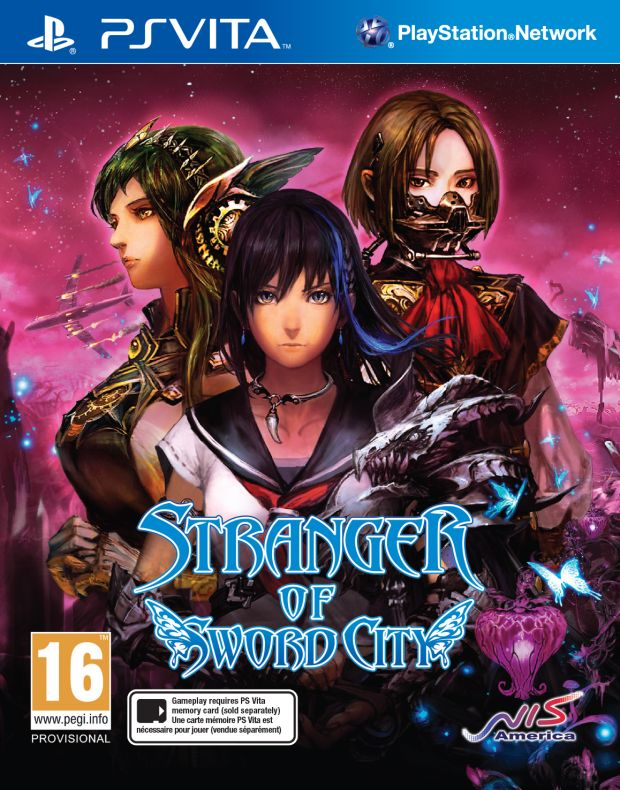 Stranger of Sword City PS Vita Screen Packshot