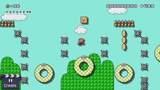 Super Mario Maker SMB3_ground_bumper