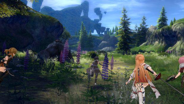 Sword Art Online Hollow Realization Screen 3