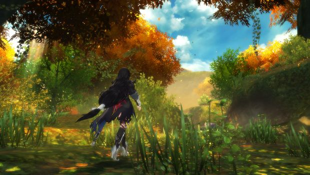 Tales of berseria Gameplay screen