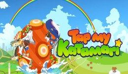 Tap my katamari screen logo