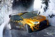 WRC 5 esport 2016 screen logo