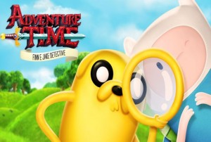 adventure time finn & jake mènent l'enquête playstation 4 review Screen Logo