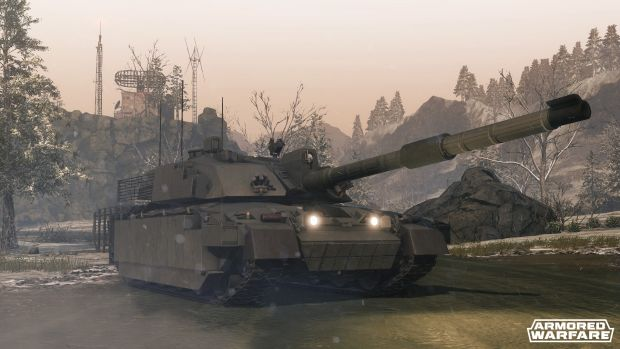armored warfare challenger 2 Screen 5