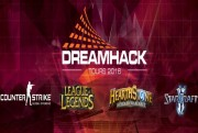 dream hack tours 2016 jeux logo