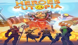 evolution heroes of utopia ios screen logo