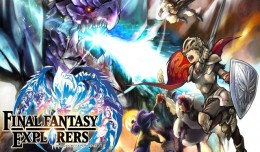 final fantasy explorers artwork logo