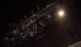 fractured space destroyer logo