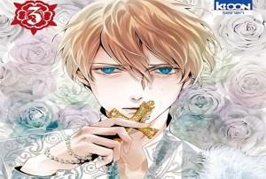 le requiem du roi des roses volume 3 critique logo